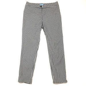 J. McLaughlin gingham plaid trouser pant cotton